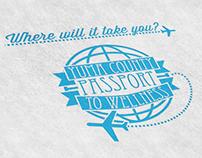 Passport to Wellness Branding Campaign