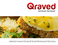 Qraved  Restaurant Presentation Design