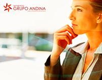 Logotipo Grupo Andina America