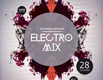 Electro Mix Flyer