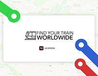 Find Your Train (UX-Design)