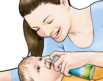 VICKS AQUABABY Spray