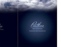 Penthus Obituaries Folder & Business card