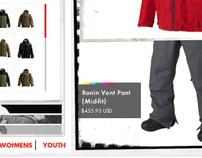BURTON: 2006 Outfit Configurator E-comm Site