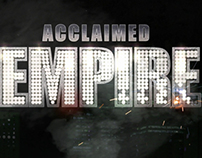 Tribute to Boardwalk Empire Title, FX animation.
