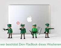"""Smart Protection"" VANDEBAG Ad - police"
