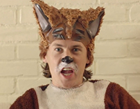 Ylvis - The Fox music video wire removal
