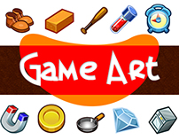 GAME ART (Collection of assets and characters)