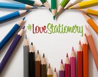 Love Stationery Illustrations