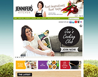 Jennifer's Kitchen - Digital/Website Strategy
