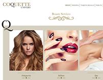 Web de servicios de belleza a domicilio