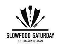 Grafisk identitet, logotyp - Slowfood Saturday