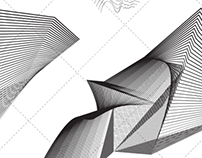 Abstract art waves vector pack