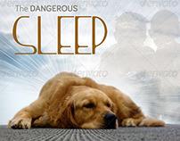 Dangerous Sleep Church Flyer Template