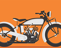 Motorbike Illustrations
