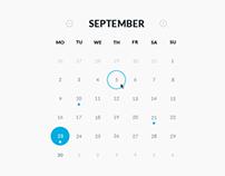 Round Calendar