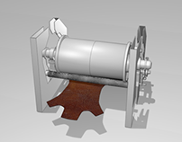 3D modelling & animation: Industrial machinery
