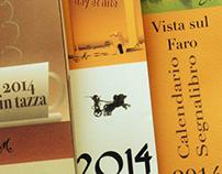 Bookmark Calendar 2014