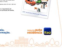 Itaú Seguro Auto e Residencia - Banners e LandingPage