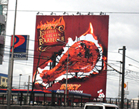 Jollibee Spicy Chicken BBQ Billboard
