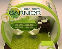 Garnier booth