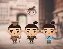 咥香香 mascot design