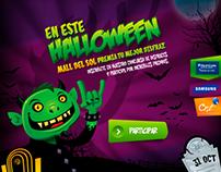 Designer MicroSitio - Halloween