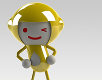 HAPPY LEMON - Toy Figurine & Branding
