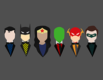 Blazers and Bow ties - Justice League
