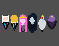 Blazers and Bow ties - Adventure Time