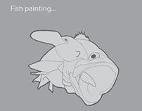 Fish painting...
