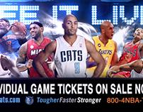 Charlotte Bobcats General Awareness Ticket Ad