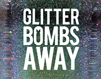 Glitter Bombs Away - My hand-mixed nail polish brand