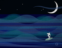EVEN IF IT'S NIGHT. Illustration