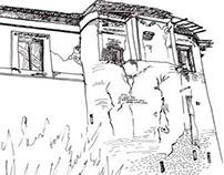 Ink Drawings, Sketch...
