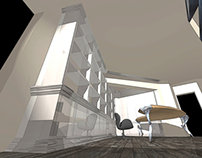 3D cad rendering - Private studio