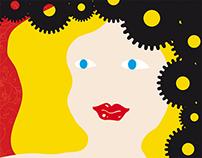 Un'ora al giorno almeno... – poster 2012