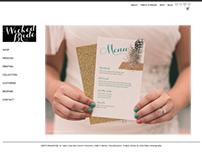 Wicked Bride Website & Branding