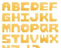 Smilewich Cheese Typography