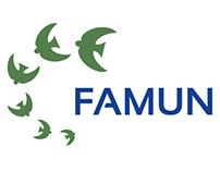 FAMUN - Logo e Portfólio Online