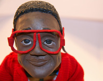 Steve Urkel Puppet