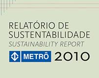 METRÔ SP :: Relatório de Sustentabilidade 2010