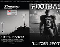 2009 T. Litzen Sports Football Catalogue