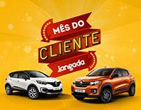 Campanha Mês do Cliente- Jangada Renault