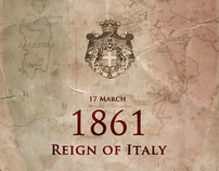 17 March 1861 - Reign of Italy