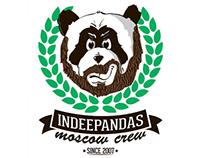 T-shirt Indeepandas Moscow Crew