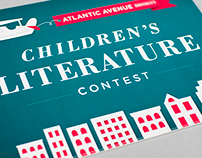 Children's Literature Contest Postcard