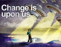 """Change is Upon Us"" : Presentation Illustrations"