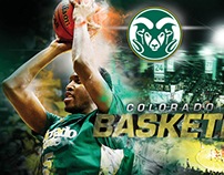 Colorado State Basketball Posters 2013