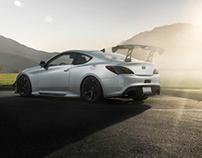 Genesis Coupe by BTRCC - Automotive Photoshoot